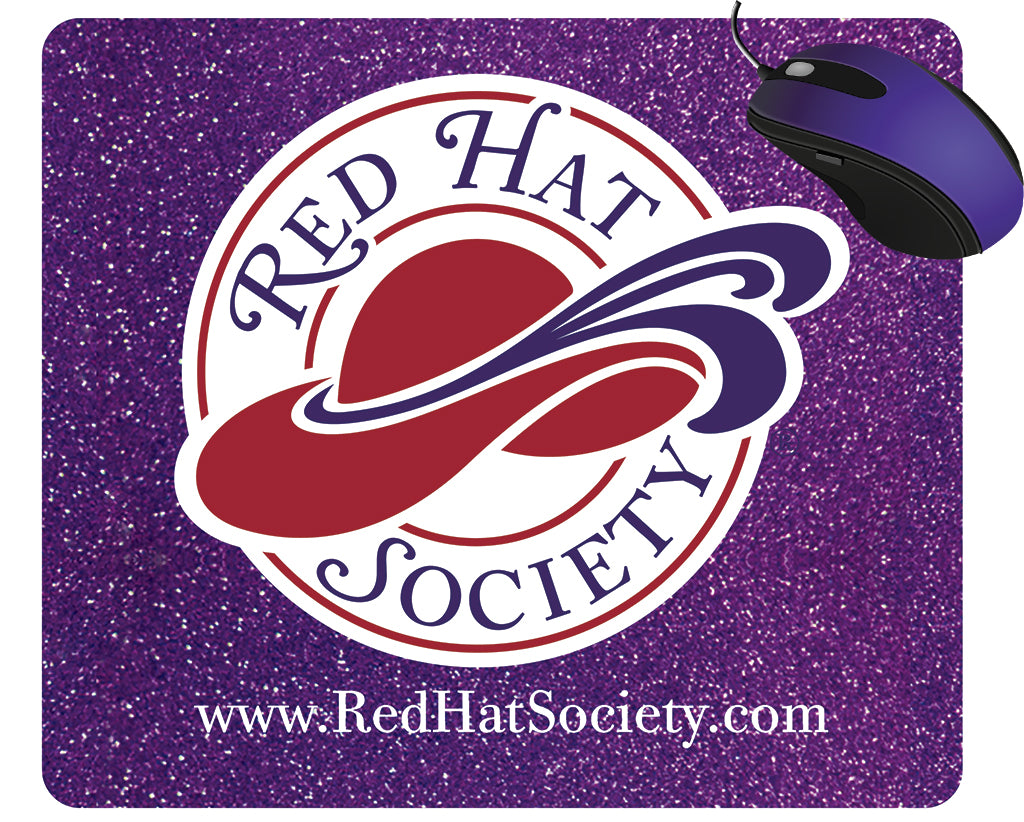 Red Hat Society Mouse Pad