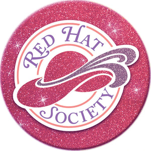Red Hat Society Logo Iron on Patch