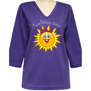 SunShine Gals Classic 3/4 Sleeve Shirt