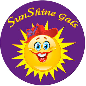 SunShine Gals Iron on Patch