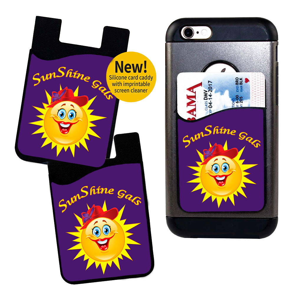 SunShine Gals Card Caddy Phone Wallet