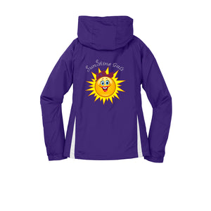 SunShine Gals Royal Hooded Jacket