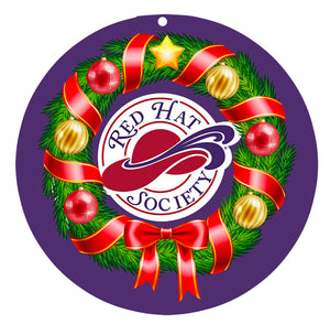 Red Hat Society Ornament