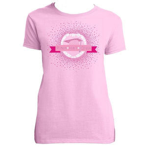 Pink Hat Diva Basic T-Shirt