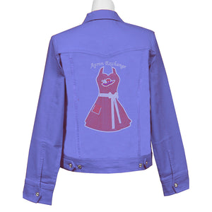 Apron Exchange Denim Crystal Jacket