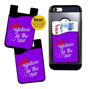 Believe in the Hat Card Caddy Phone Wallet