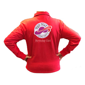 Red Hat Society Birthday Girl Cardigan Jackets