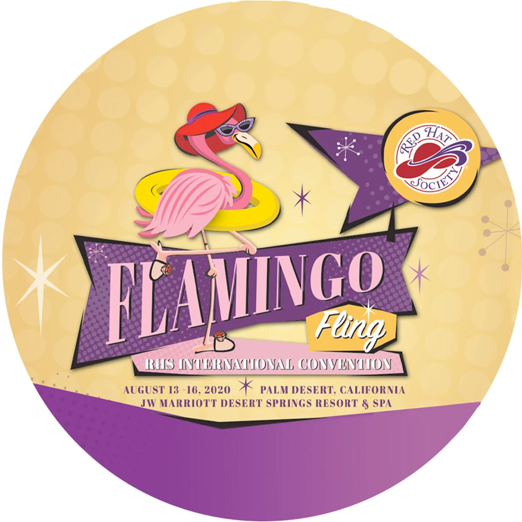 Flamingo Fling Iron on Patch