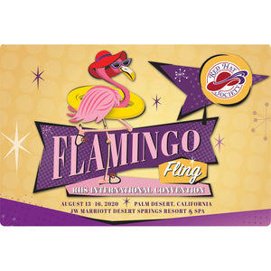 Flamingo Fling 2020 Pocket Planner