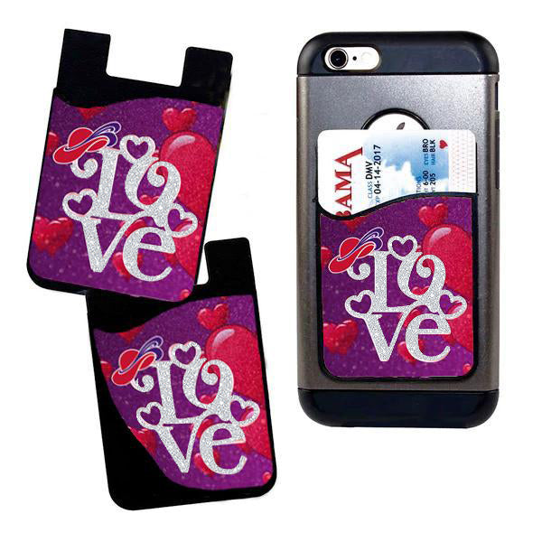 Love of The Hat Card Caddy Phone Wallet