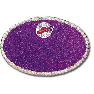 Custom Oval Rhinestone Name Badge