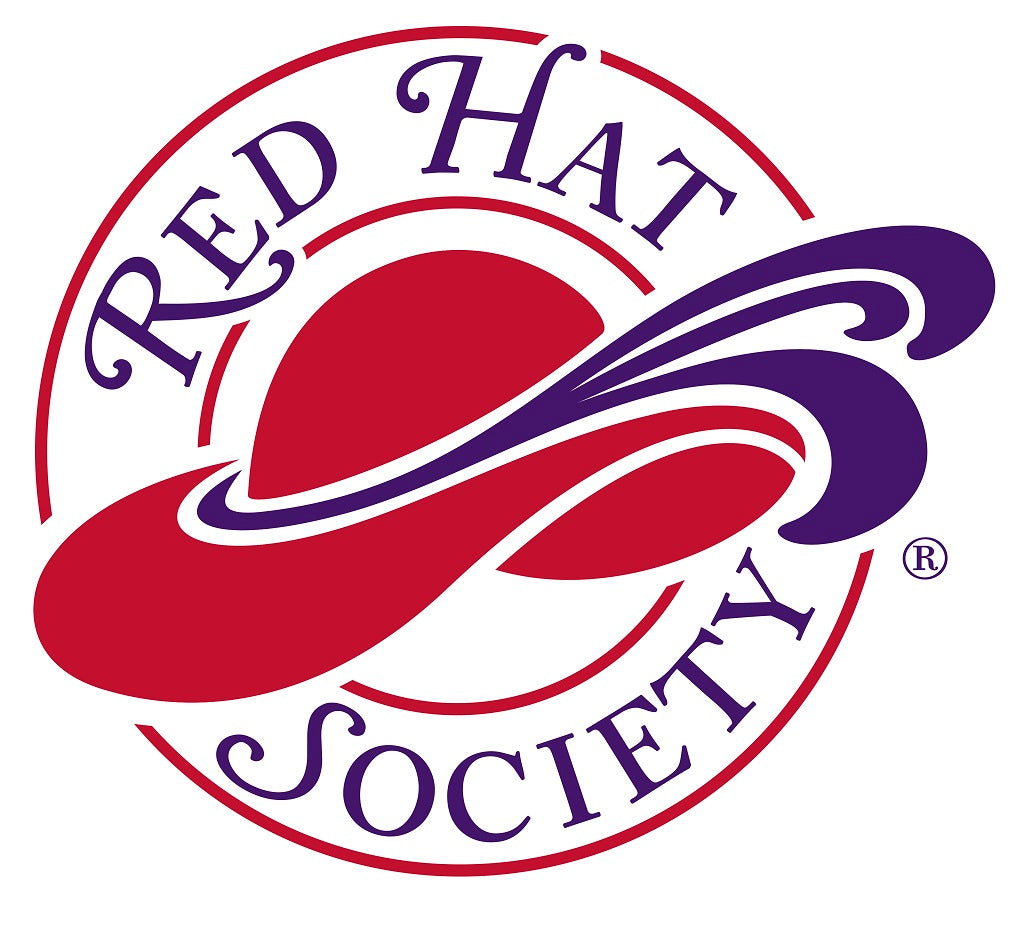 Red Hat Society Stickers - Pack of 4