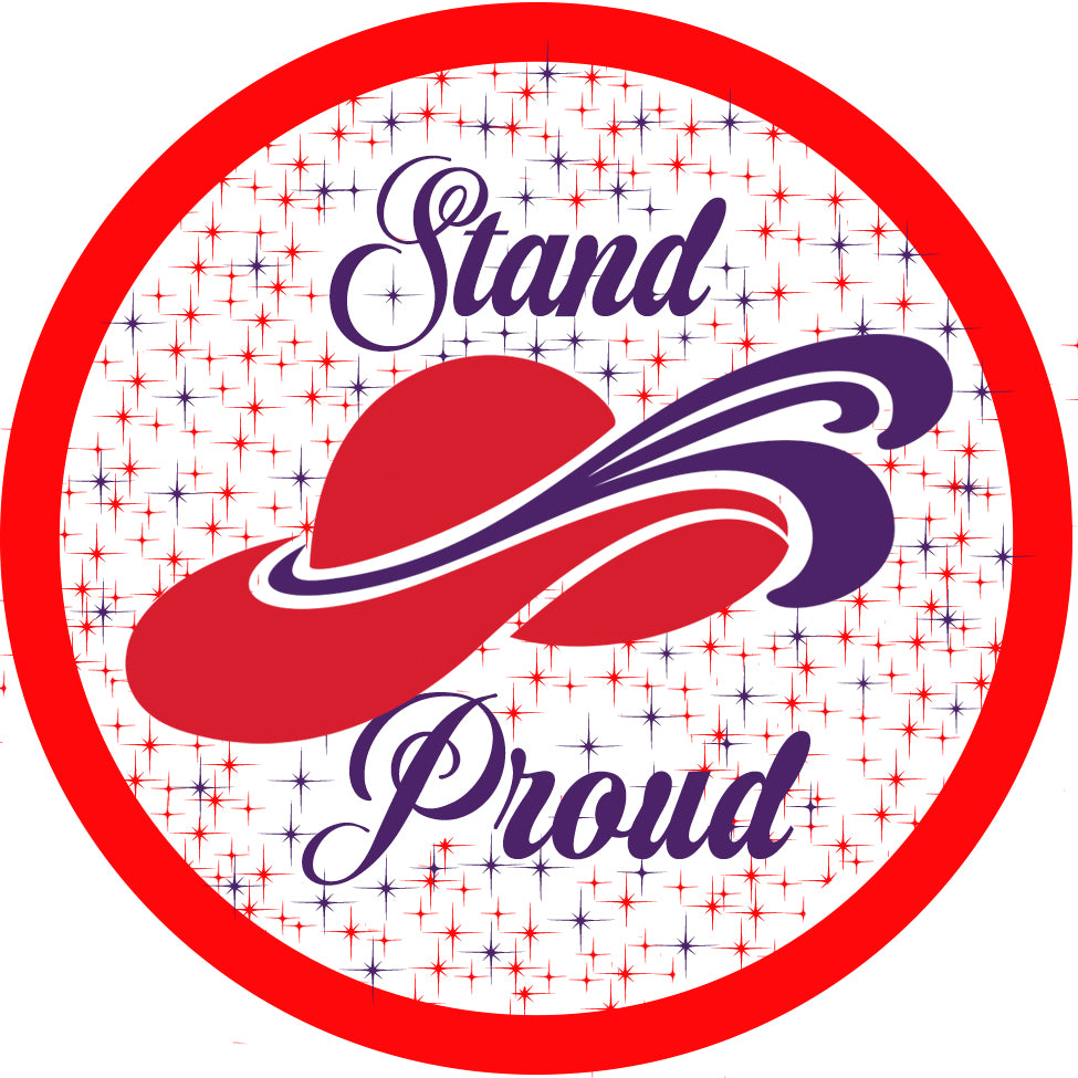 Stand Proud Button Pin