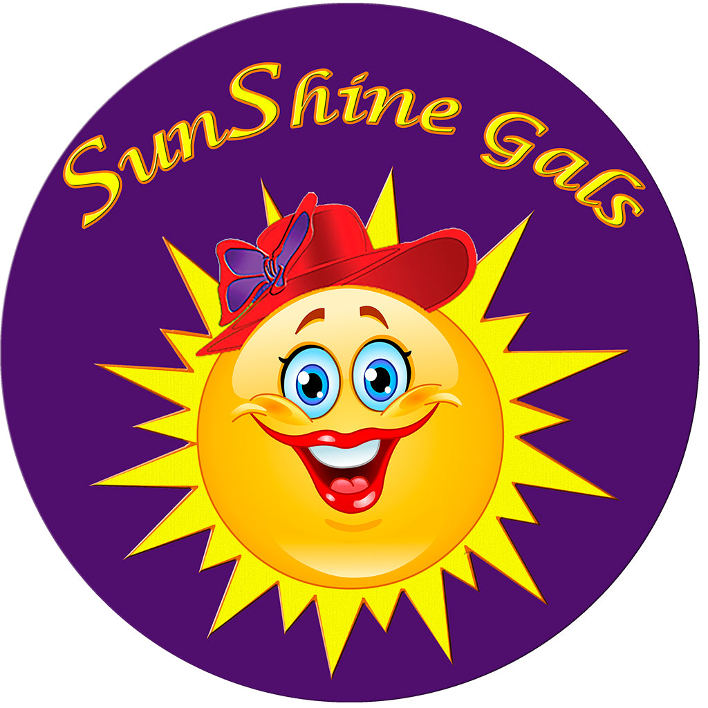 SunShine Gals Button Pin