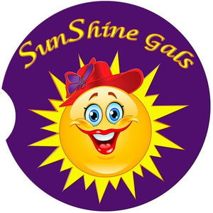 SunShine Gals  Car Coaster