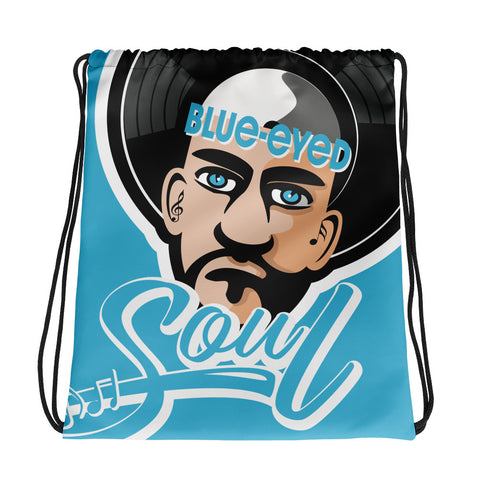 Blue Eyed Soul 2.0 Drawstring Bag