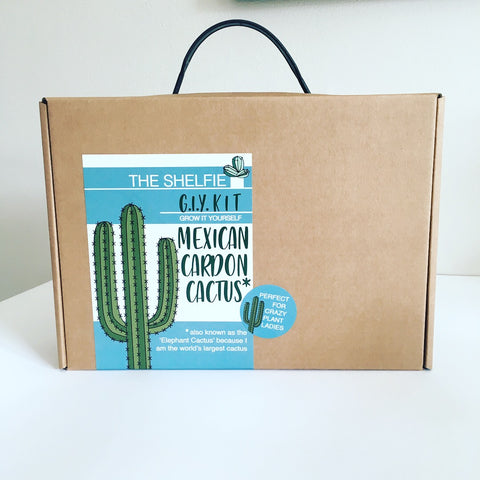 Grow It Yourself Kit : Mexican Cardon Cactus