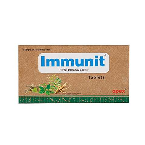 Apex Immunit Tablets 150Tablets (Ayurvedic) - Ayush Care