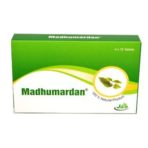 Madhumardan Tablets 60Tablets (Ayurvedic) - Ayush Care