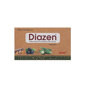 Apex Diazen Tablets 150Tablets (Ayurvedic) - Ayush Care