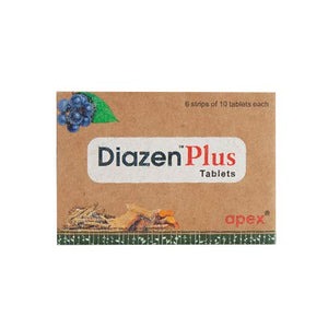 Diazen Plus 60Tablets (Ayurvedic)