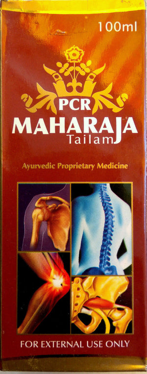 PCR Maharaja Tailam 100ml Oil for Joint Pains (Ayurvedic) - Ayush Care