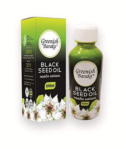 Greenish Baraka Black Seed Oil 100ml (Ayurvedic) - Ayush Care