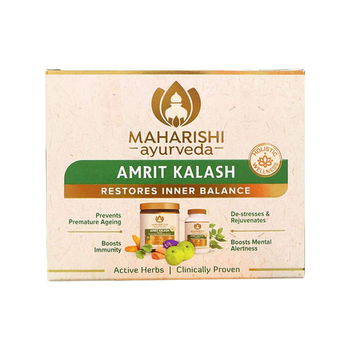 Amrit Kalash 60Tablets & 600g Paste (Lehya) - Ayurvedic
