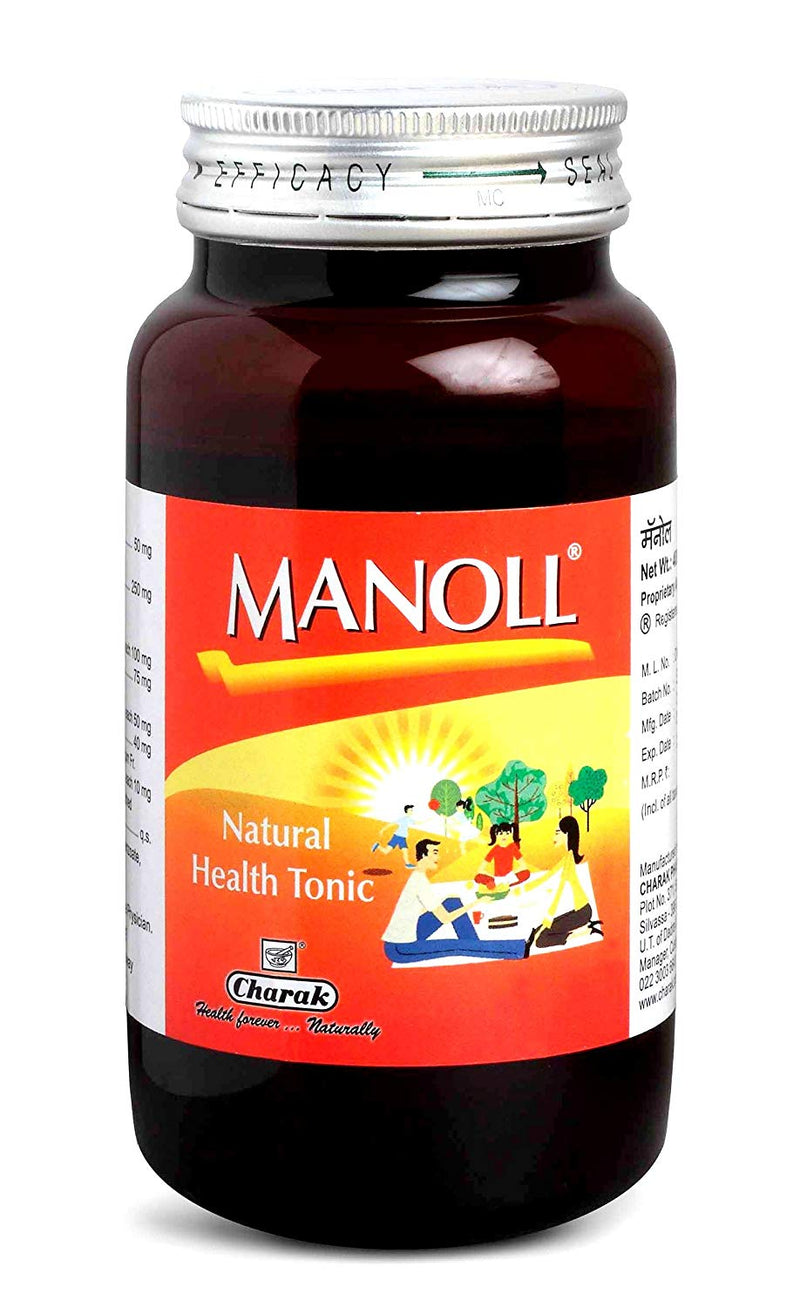 Charak Manoll Health Tonic 400ml (Ayurvedic) - Ayush Care