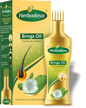Herbodaya Bringa Oil 100ml (Ayurvedic) - Ayush Care