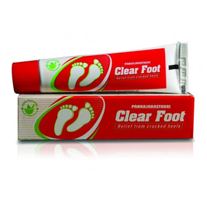 Pankajakasthuri Clear Foot Cream 25g (Ayurvedic) - Ayush Care
