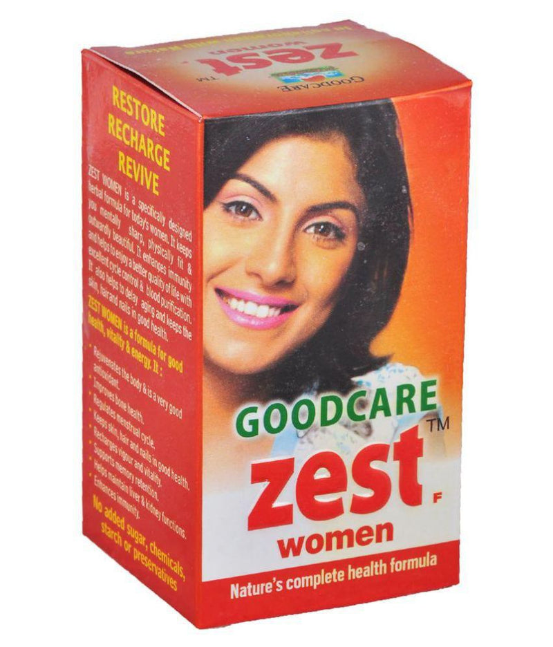 Zest F 60Capsules for Women