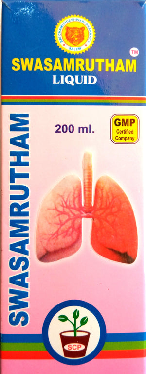 Swasamrutham Syrup 200ml (Ayurvedic) - Ayush Care