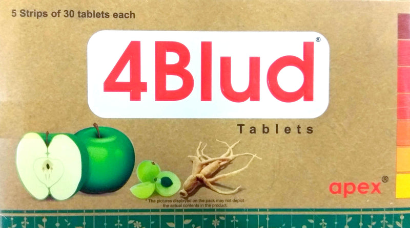 Apex 4Blud Tablets 150Tablets (Ayurvedic) - Ayush Care