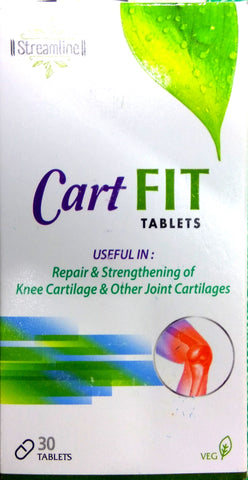 Cart Fit Tablets 30Tablets (Ayurvedic) - Ayush Care