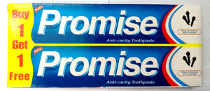 Dabur Promise Toothpaste 80gm + 80gm Free (Pack of 3) - Ayush Care