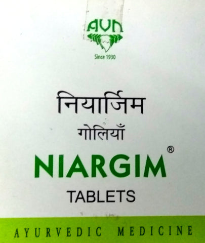 Niargim Tablets 100Tablets (Ayurvedic) - Ayush Care