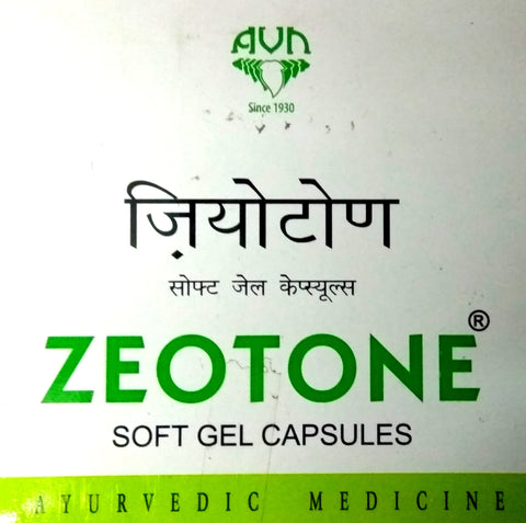 Zeotone Softgel 100Capsules (Ayurvedic) - Ayush Care