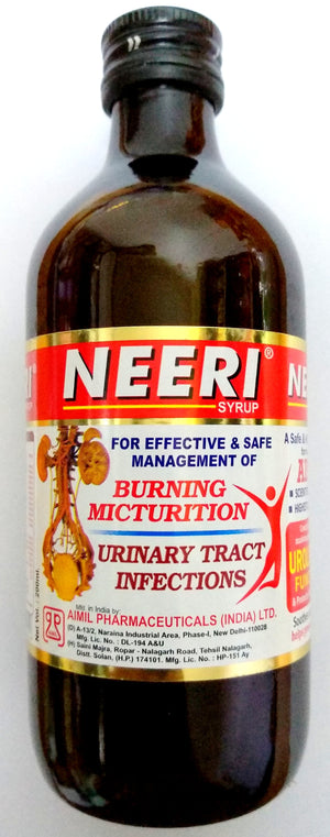 Aimil Neeri Syrup 200ml (Ayurvedic) - Ayush Care