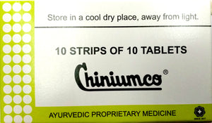 Chiniumco 100Tablets (Ayurvedic) - Ayush Care