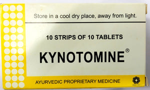 Kynotomine Tablets 100Tablets (Ayurvedic) - Ayush Care