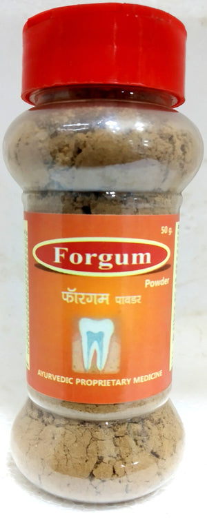 Forgum Toothpowder 50gm (Ayurvedic) - Ayush Care