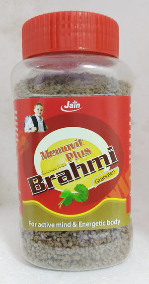 Jain Memovit Plus Brahmi granules 200gm (Ayurvedic) - Ayush Care