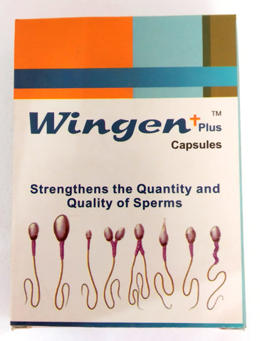 Wingen Plus Capsules 50Capsules (Ayurvedic) - Ayush Care