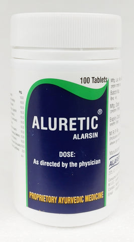 Alarsin Aluretic Tablets 100Tablets (Ayurvedic) - Ayush Care