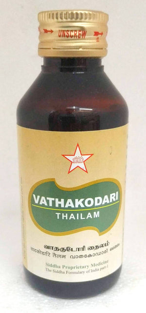 SKM Vathakodari Thailam 100ml (Siddha) - Ayush Care