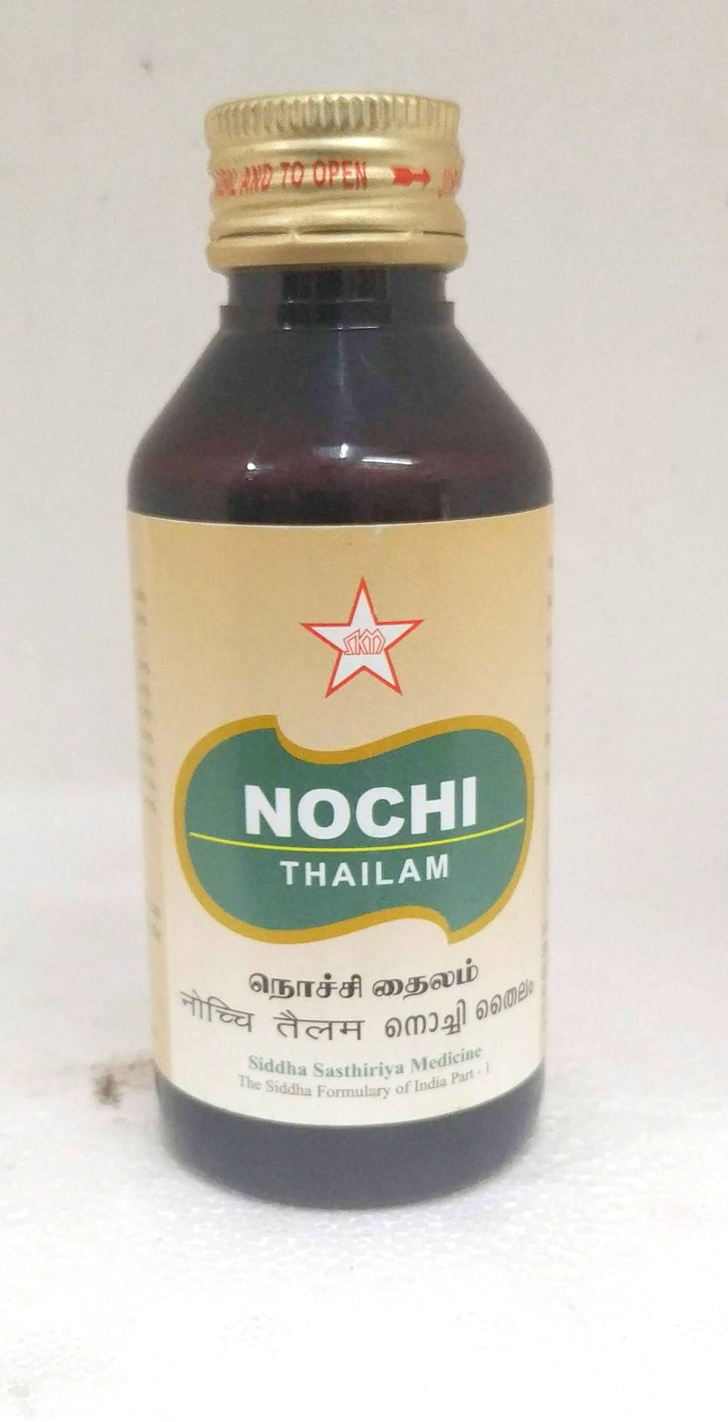 SKM Nochi Thailam 100ml (Siddha) - Ayush Care