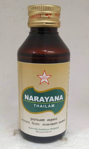 SKM Narayana Thailam 100ml (Ayurvedic) - Ayush Care