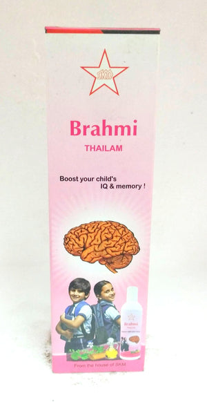 SKM Brahmi Thailam 100ml (Ayurvedic) - Ayush Care