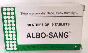 Albosang Tablets 100Tablets (Ayurvedic) - Ayush Care